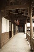 Chinese traditional hallway — Stock Photo
