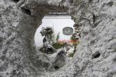Décor de jardin chinois — Photo