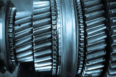 Gear gearbox — Stock Photo