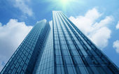 Modern commercial buildings — Stock Photo