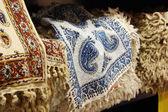 Persian traditional decorative cloth — Stock Photo