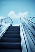 Escalator to the sky — Foto Stock