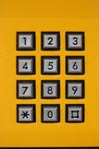 手机数字键 — 图库照片