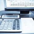 Check the accounting data — Stock Photo #3465430