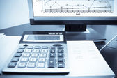 Check the accounting data — Stock Photo
