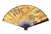 Foldingl chiński wentylator — Zdjęcie stockowe