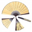 folding fan — Stock Photo
