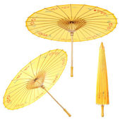 Asian paper umbrella — Stock Photo