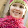 Five Year Old in Pink — Stock Photo