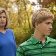 Mother and Son at Odds — Stock Photo #3319826