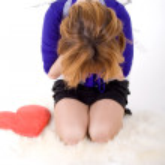 Sad girl — Stock Photo