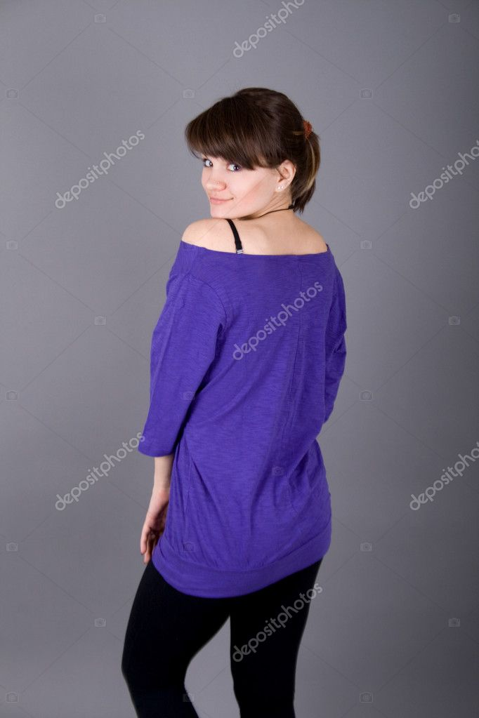 Dancing girl — Stock Photo #2787219