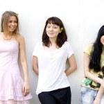 Three female friends — Stock Photo #3387651