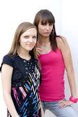 Två kvinnliga vänner — Stockfoto