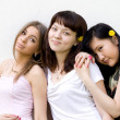 Royalty-Free Stock Photo: Three female friends