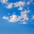 The sky with clouds. — Foto de Stock