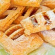 Puff pastry with apple jam. — Photo
