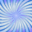 Abstract swirl background in blue color. Vector illustration. — Vector de stock #3549586