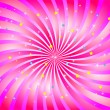 Abstract swirl in rosy color. Vector illustration. — Stock Vector