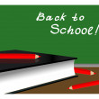 Back to School. Vector illustration. EPS 10. — Stockvektor