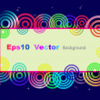 Eps10 vector card. — Vettoriali Stock