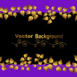 Floral background. vector. — Stock vektor
