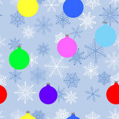 Natal sem emenda. vector. — Vetorial Stock