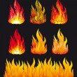 Fire - Stock Vector