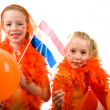 Queen's day — Stock Photo