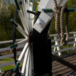 Stock Photo: Detail windmill