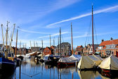 Harbor in the Netherlands — Stock Photo