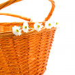 Stock Photo: Cane basket