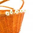 Cane basket — Stock Photo