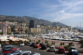 Harbor at Monte Carlo, Monaco — Stock Photo