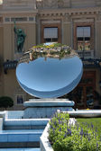 Mirror of the casino in Monte Carlo — Stock Photo