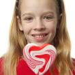 Young girl with lollipops — Stock Photo #2761704
