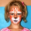Stock Photo: Face painting