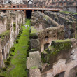 Inside of the colosseum in Rome — Stock Photo #2826740