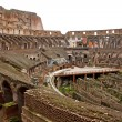 Inside of the colosseum in Rome — Stock Photo
