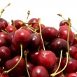 Red cherries in closeup — Stock Photo