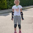 Girl on roller skate — Stock Photo #2897970
