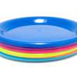 Royalty-Free Stock Photo: Colorful plastic plates