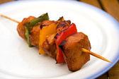 Carne de churrasco com páprica — Fotografia Stock