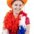 Royalty-Free Stock Photo: Dutch soccer fan