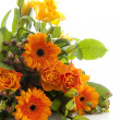 Bouquet of orange flowers - Stock Photo