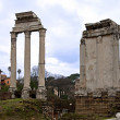 Stock Photo: Foro Romano, Tempio dei Dioscuri in Rome
