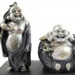 Two Buddha statues — Stock Photo #3033366
