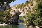 Vallon Pont d'Arc, in France — Stock Photo