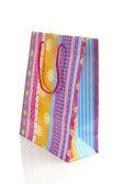 Renkli alışveriş çantası — Stok fotoğraf