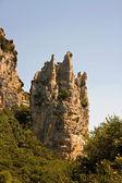 скалы в форме собор — Стоковое фото